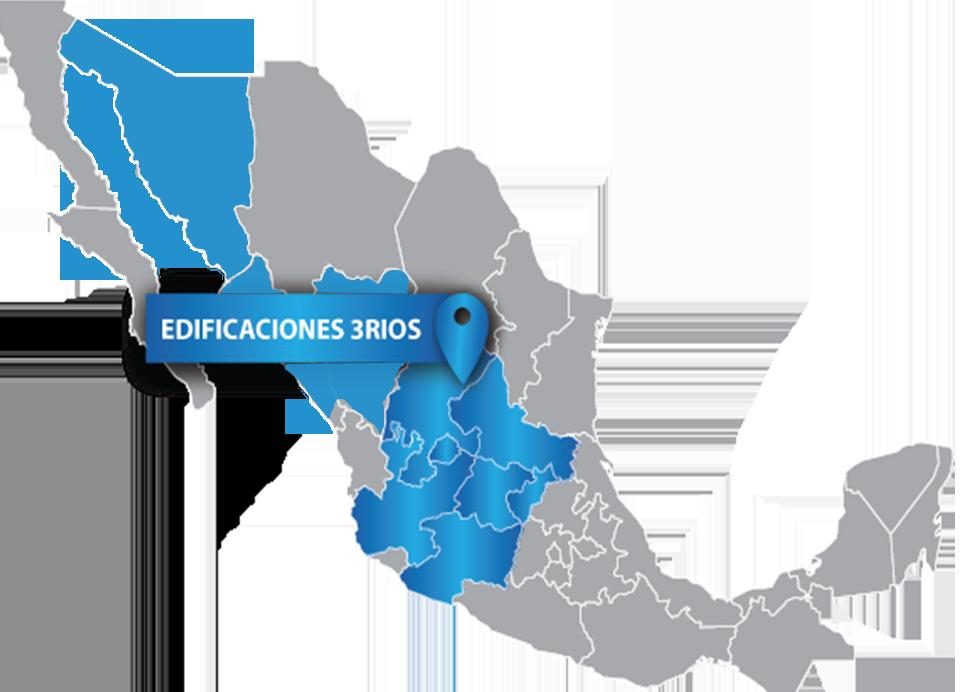 mapa 3rios